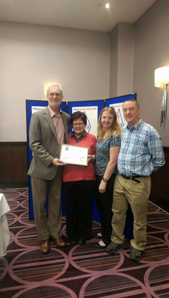 Rsgb Club of the year runners up