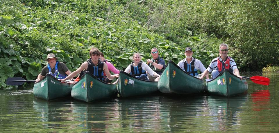 Canoeing Group May 2016fb