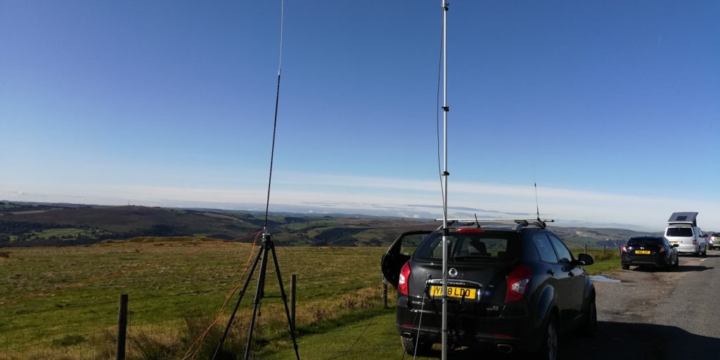 setup in the peaks - hope view